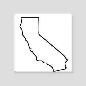 California Outline Sticker