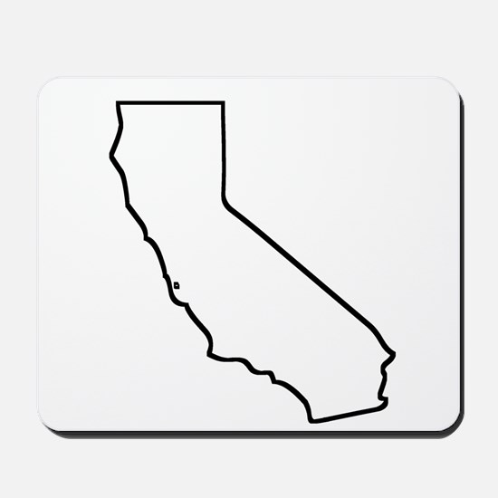 California Outline Mousepad