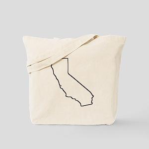 California Outline Tote Bag