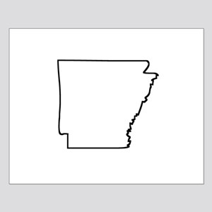 Arkansas Outline Posters