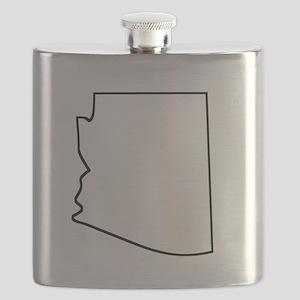 Arizona Outline Flask