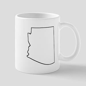 Arizona Outline Mugs