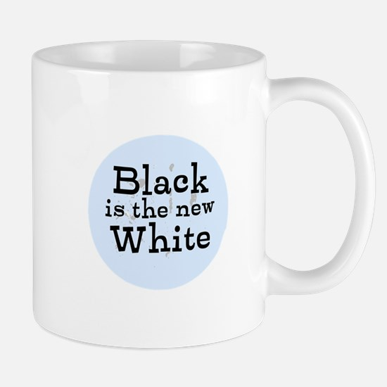 Black is the new White Mugs