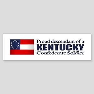 Kentucky Proud Descendant Sticker (Bumper)