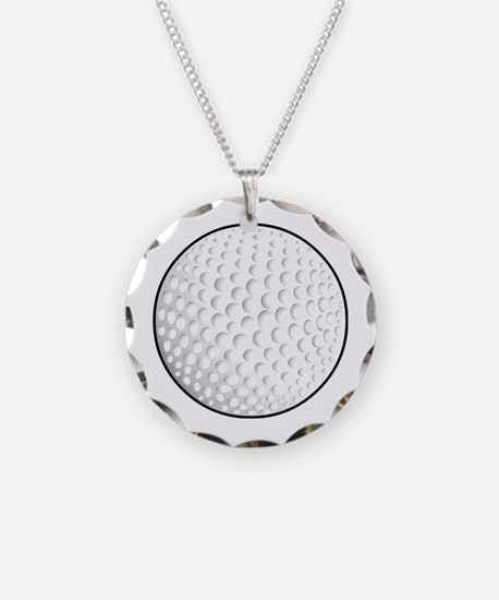 Cool Golf dad Necklace