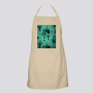 Atomic Age in Teal. Apron