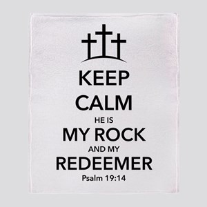 My Redeemer Throw Blanket