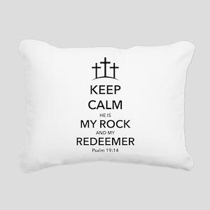 My Redeemer Rectangular Canvas Pillow