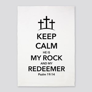 My Redeemer 5'x7'Area Rug