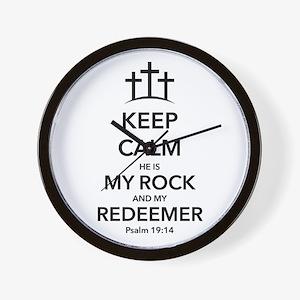 My Redeemer Wall Clock