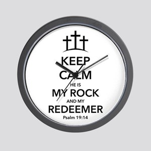 My Redeemer Wall Clock