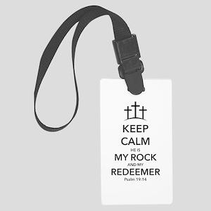 My Redeemer Large Luggage Tag