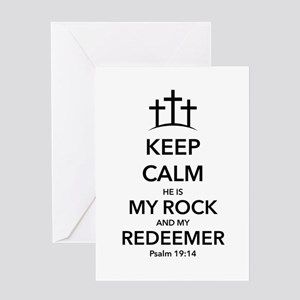 My Redeemer Greeting Card