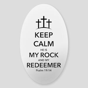 My Redeemer Sticker (Oval)