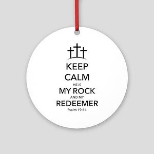 My Redeemer Ornament (Round)