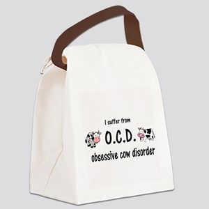 Obsessive Cow Disorder Canvas Lunch Bag