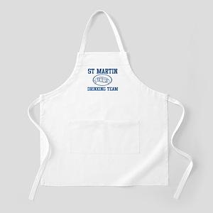 ST MARTIN drinking team BBQ Apron