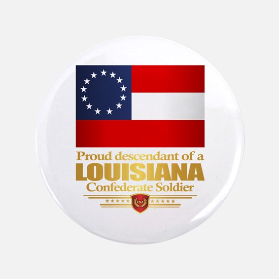 Louisiana Proud Descendant Button