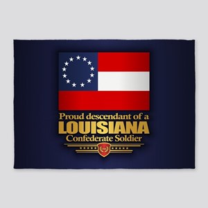 Louisiana Proud Descendant 5'x7'Area Rug
