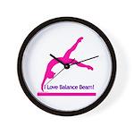 Gymnastics Clock - Beam