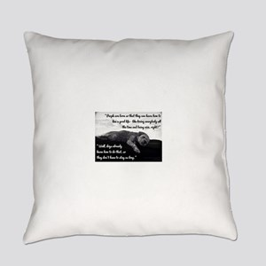 Old Dog Everyday Pillow