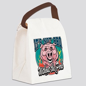 BBQ Pork Canvas Lunch Bag