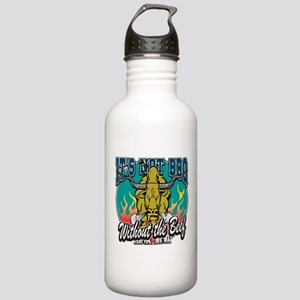 BBQ Beef Stainless Water Bottle 1.0L