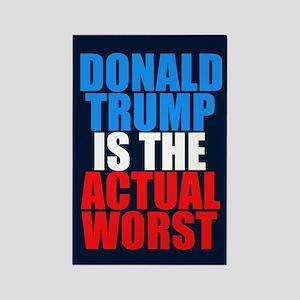 Anti Trump Worst Rectangle Magnet