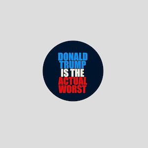 Anti Trump Worst Mini Button