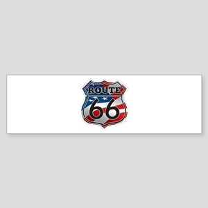 Route 66 Bumper Sticker