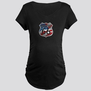 Route 66 Maternity T-Shirt