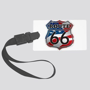 Route 66 Large Luggage Tag