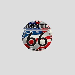 Route 66 Mini Button