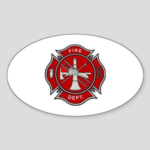 Fire Dept. Sticker