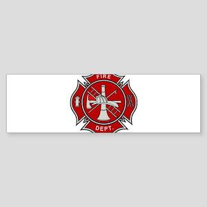 Fire Dept. Bumper Sticker
