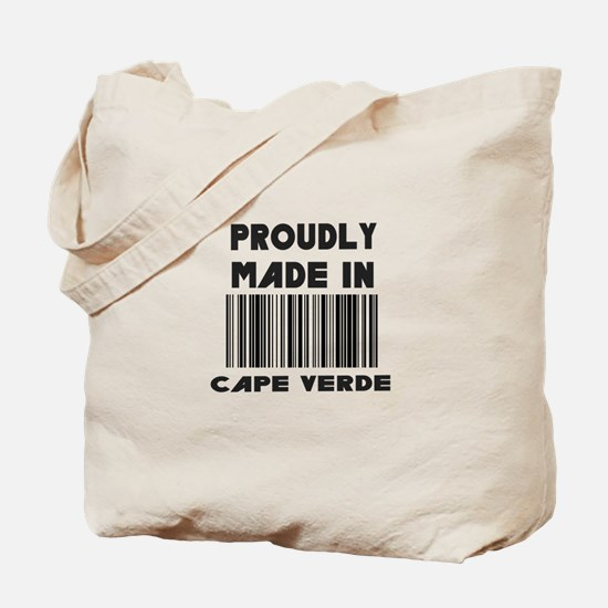 Proudly Made in Cape Verde Tote Bag