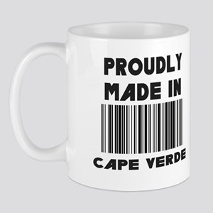 Proudly Made in Cape Verde Mug