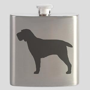 Spinone Italiano Flask