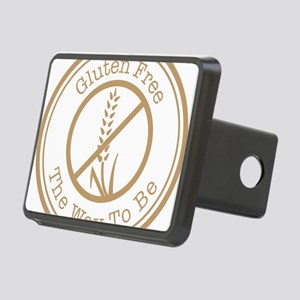 Gluten Free The Way To Be Rectangular Hitch Cover