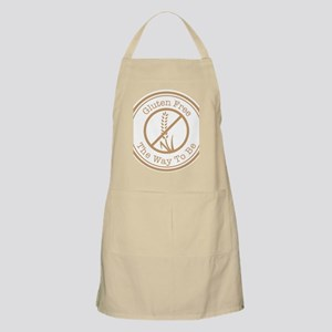 Gluten Free The Way To Be Apron