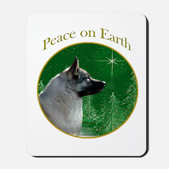 Elkhound Peace Mousepad