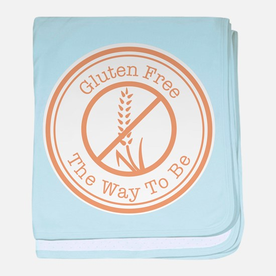 Gluten Free The Way To Be baby blanket