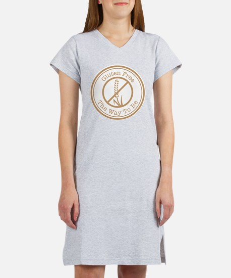 Gluten Free The Way To Be Women's Nightshirt