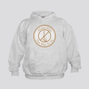 Gluten Free The Way To Be Kids Hoodie
