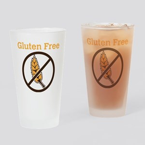 No Wheat  Drinking Glass