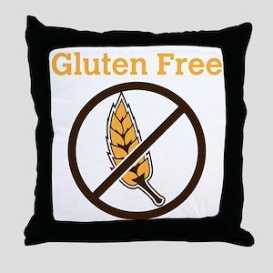 No Wheat  Throw Pillow