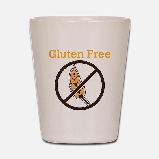 No Wheat  Shot Glass