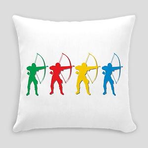 Archery Archers Everyday Pillow