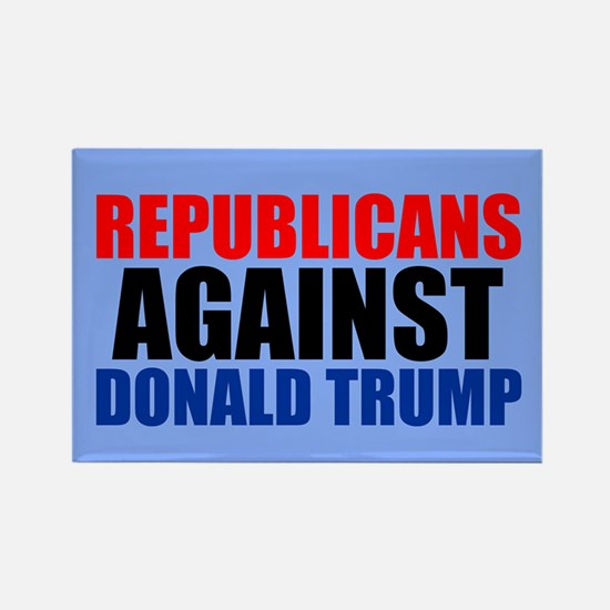 Anti Trump Republican Rectangle Magnet (100 pack)