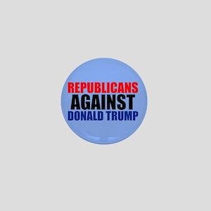 Anti Trump Republican Mini Button
